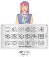 MoYou London Stempelplaat - Nail Art Stamping  Origami 09