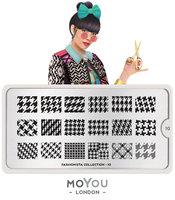MoYou London Stempelplaat - Nail Art Stamping  Fashionista 10
