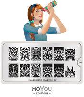 MoYou London Stempelplaat - Nail Art Stamping  Kaleidoscope 08