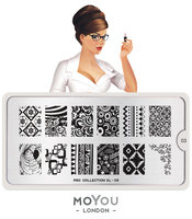 MoYou London Stempelplaat - Nail Art Stamping  Pro XL 03