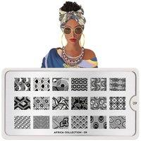 MoYou London Stempelplaat - Nail Art Stamping  Africa 09