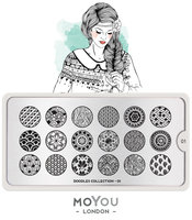 MoYou London Stempelplaat - Nail Art Stamping  Doodles 01