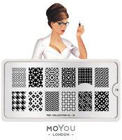 MoYou London Stempelplaat - Nail Art Stamping  Pro XL 18