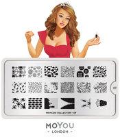 MoYou London Stempelplaat - Nail Art Stamping Princess 09