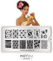 MoYou London Stempelplaat - Nail Art Stamping Tropical 05