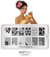 MoYou London Stempelplaat - Nail Art Stamping Tropical 09