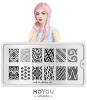 MoYou London Stempelplaat - Nail Art Stamping Asia 09