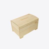Semilac Houten bewaar box voor gel nagellakken - voor 17 stuks