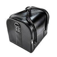 Nagel koffer/tas Kleur Zwart - Make Up Tas - Super de luxe beautycase - een absolute kado tip en musthave