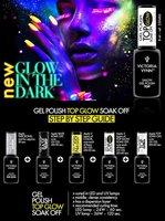 Victoria Vynn™ Salon gel polish Top GLOW - (lak af met een topgel)