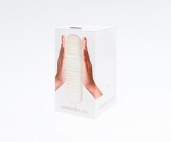 Comforties Table Towels -in handige dispencer/ WIT