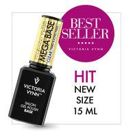 Rubber Base - Victoria Vynn™ Gel Polish Mega Base - Hard & Long Nails - CLEAR 15ml.