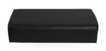 Armsteun Nagelstyliste XXL Skai ZWART - Extra groot model -super fijne armsteun -  maar liefst 42cm x 18,5cm x 9,5 cm - Musthave
