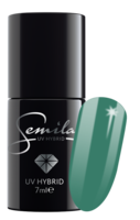 631 UV Hybrid Gel Nagellak Semilac Sharm effect Green 7ml.