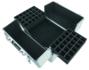 Nagelkoffer - Beauty Case XL Wit met glitters - Exclusief bij ONS verkrijgbaar - met speciale vakjes voor jouw gellakken - veel opbergruimte _