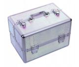 Beautycase - Nagel koffer - Make Up koffer - Hologram Unicorn Snake Iriserend - met super handige indeling voor nagellakken of flesjes - Alleen bij ONS verkrijgbaar_
