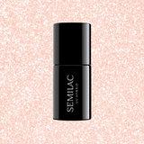 Semilac Gellak   578 Glow Together   7 ml.   Shimmer Perzik Roze_
