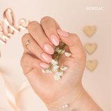 Semilac Gellak | 576 Bridesmaid In Rose | 7 ml. | Shimmer Roze_