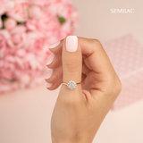 Semilac Gellak | 574 Bride In Powder Pink | 7 ml. | Perzik Roze_