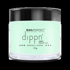 Dip poeder voor nagels | Dippn Nailperfect | 043 Dolce Vita | 25gr | Groen