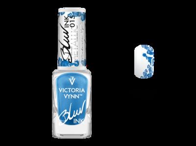 Victoria Vynn™ Metallic BLUR INK 015 - Voor super snelle en gave aquarelle en marble designs - Blauw