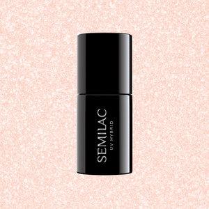 Semilac Gellak   579 Celebrate Together   7 ml.   Shimmer Roze