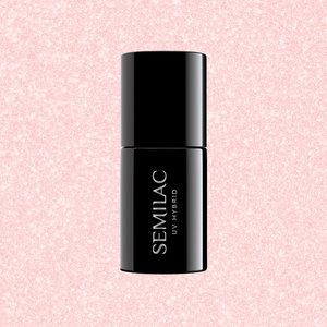 Semilac Gellak | 576 Bridesmaid In Rose | 7 ml. | Shimmer Roze