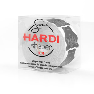 Semi Hardi Shaper Slim - 500st. - Sjablonen om nagels mee te verlengen