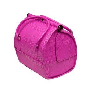Wonderlijk Nagel koffer - tas Kleur Crocoprint PINK - NIEUW MODEL - Modern OY-36